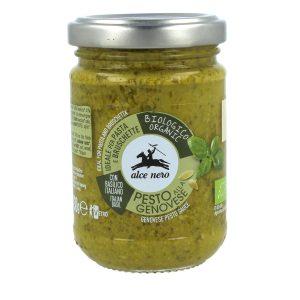 Alce Nero PG130 Organic Basil Pesto sauce 130g