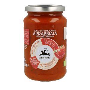 Alce Nero PO850 Organic Tomato Sauce Arrabbiata with chili 350g