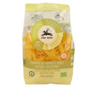 Alce Nero PSG719 Organic GF Corn And rice Penne Pasta 250g