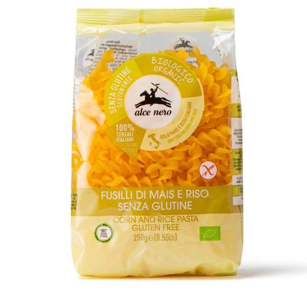 Alce Nero PSG721 Organic GF Corn And rice Pasta 250g