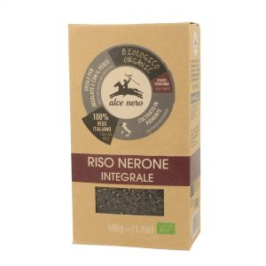 Alce Nero RI861 Organic Black Rice NERONE 500g