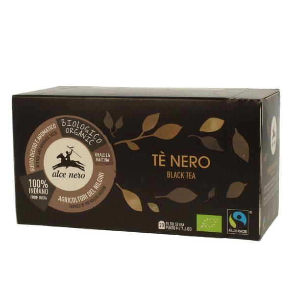 Alce Nero TN020 Organic Black Tea TE NERO 35 g