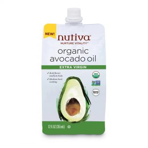 Nutiva Organic Avocado Oil Extra Virgin 100 % Pure 12oz