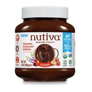 Nutiva Organic Hazelnut Spread Classic 13 Oz