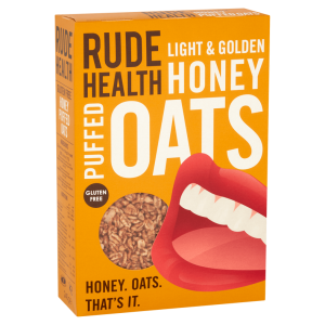 Rude Health GF Puffed Honey Oats 240g