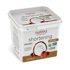 Nutiva Organic Red Palm and Coconut Shortening oil 15 OZS