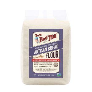 دقيق الارتيسان للخبز بوبز رد ميل 1360جرام