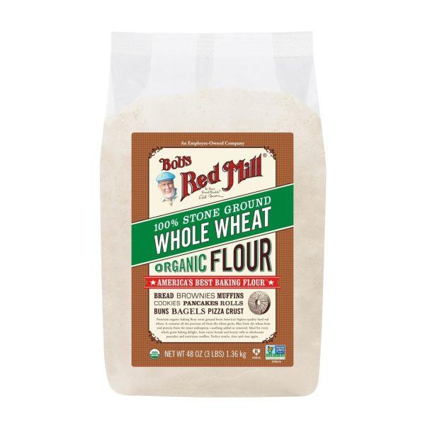 دقيق القمح الاسمر العضوي بوبز رد ميل 1360 جرام