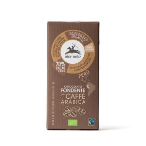 Alce Nero CFC050 Organic dark chocolate with Coffee 50g