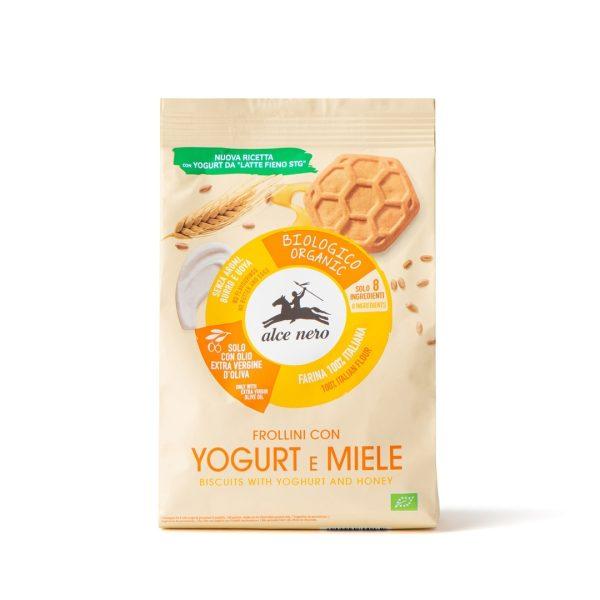 Alce Nero FR243 Organic yogurt & honey biscuits 250g
