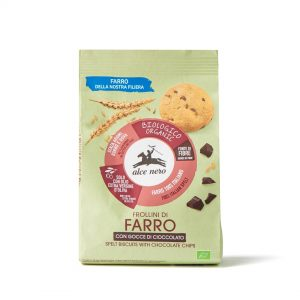Alce Nero FR248 Organic spelt biscuits with chocolate drops 250g