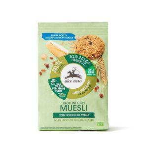 Alce Nero FR255 Organic muesli biscuits 250g