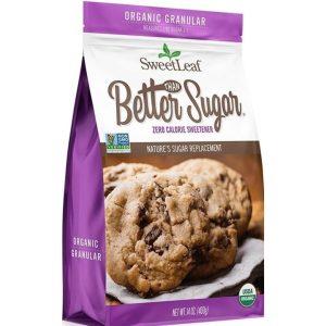 Stevia Organic Better Than Sugar Granular Sweetener Blend 400g