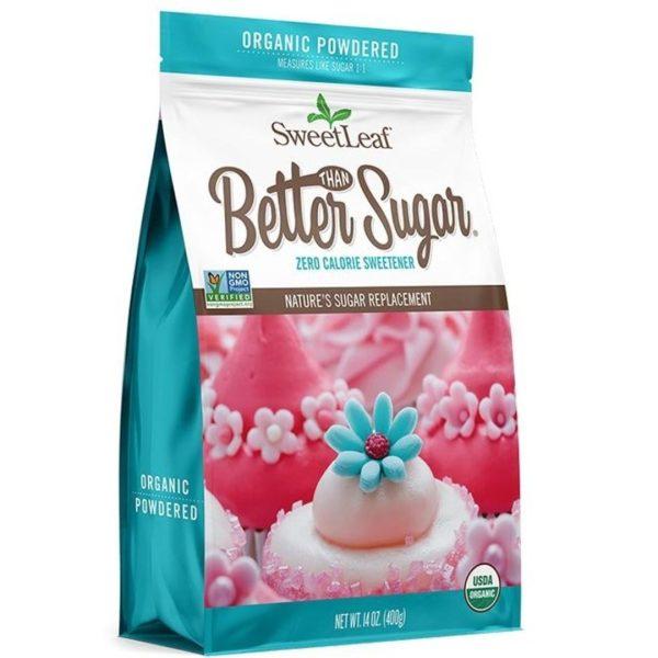 Stevia Organic Better Than Sugar Powdered Sweetener Blend 400g