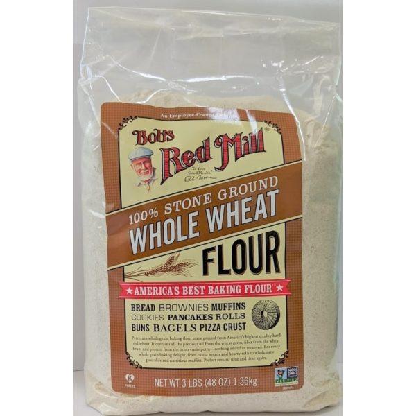 دقيق القمح الكامل بوبز رد ميل 1360 جم