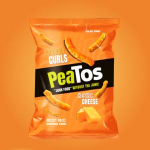 PeaTos GF Classic Cheese Crunchy Curls 28g