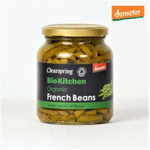 Clear Spring Demeter Organic French Beans 340g