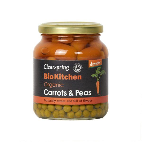 Clear Spring Demeter Organic Carrots & Peas 350g