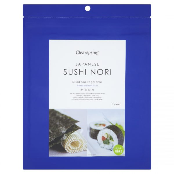 Clear Spring Japanese Toasted Sushi Nori 7 sheets 17g