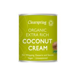 Clear Spring Organic Extra Rich Coconut Cream 200ml