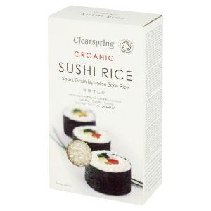 كلير سبرينج أرز سوشي عضوي شفاف 500جم