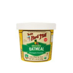 BRM Organic GF Oatmeal Cup PineApple Coconut 2.43oz