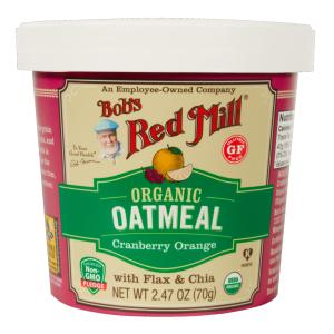 BRM Organic GF Oatmeal Cup Cranberry Orange 2.47oz